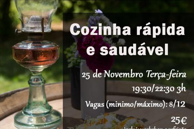 Workshop Vai à Fava! Cozinha Saudável 25  Novembro 2014